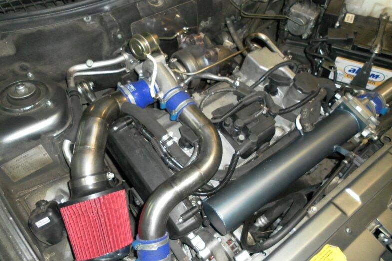 Как из турбированного двигателя сделать атмосферный